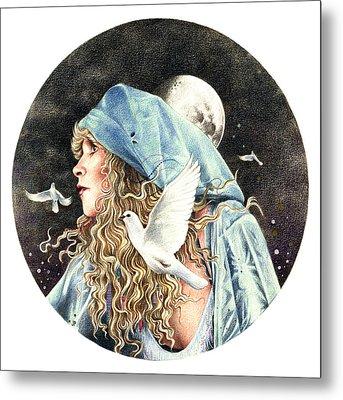 Gypsy Metal Print by Johanna Pieterman
