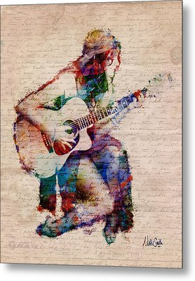 Gypsy Serenade Metal Print by Nikki Smith