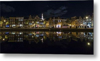 Haarlem Night Metal Print by Chad Dutson