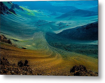 Metal Print featuring the photograph Haleakala by M G Whittingham