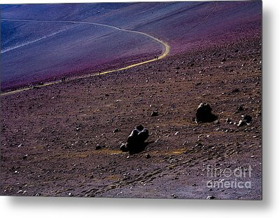 Metal Print featuring the photograph Haleakala 2 by M G Whittingham