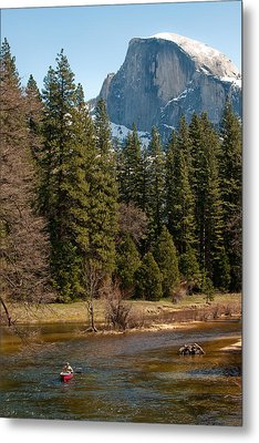 Half Dome Yosemite Metal Print by Tom Dowd