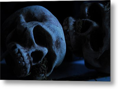 Halloween Skulls Metal Print by Craig Incardone
