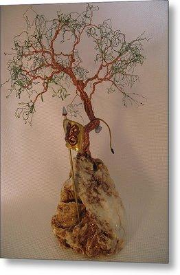 Hanging It Up Metal Print by Judy Byington