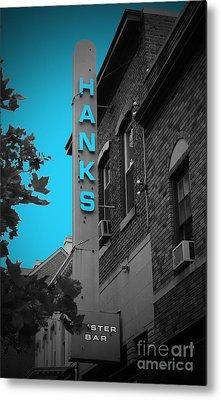Hanks Oyster Bar Metal Print by Jost Houk