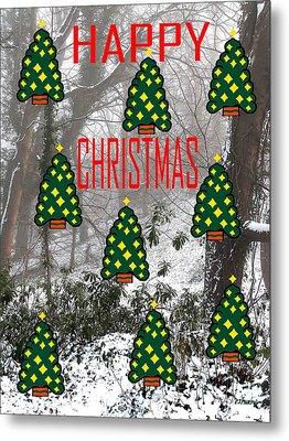 Happy Christmas 22 Metal Print by Patrick J Murphy