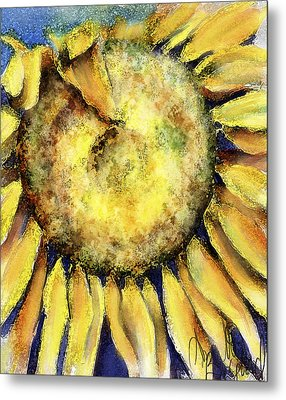 Happy Day Metal Print by Annette Berglund