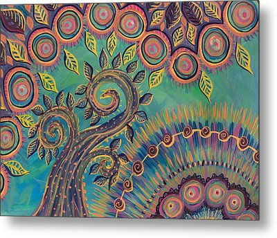 Happy Day Metal Print by Cherie Sexsmith