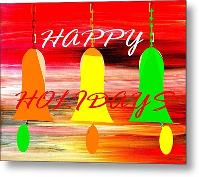 Happy Holidays 11 Metal Print by Patrick J Murphy