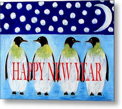 Happy New Year 5 Metal Print by Patrick J Murphy