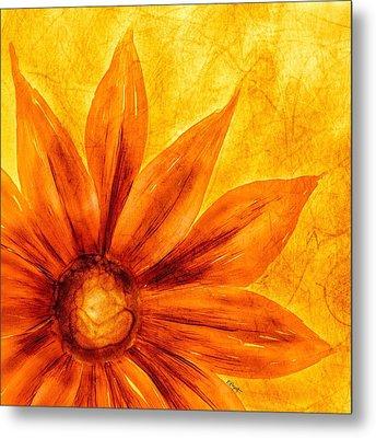 Happy Petals Metal Print by Brenda Bryant