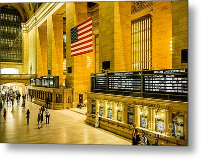 Metal Print featuring the photograph Grand Central Pride by M G Whittingham
