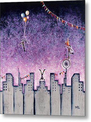 Harlequins Festival Metal Print by Graciela Bello