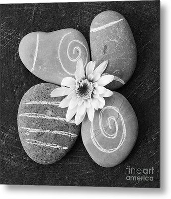 Harmony And Peace Metal Print by Linda Woods
