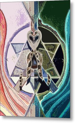 Harmony Of Duality Metal Print by Saarah Esther Felix