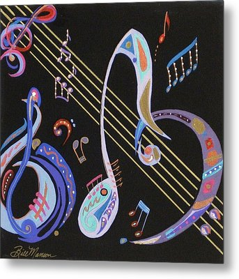 Harmony V Metal Print by Bill Manson