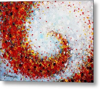 Harvest Time Metal Print by Kume Bryant
