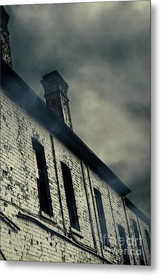 Haunted House Details Metal Print by Jorgo Photography - Wall Art Gallery