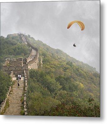 Haunting Great Wall Metal Print by Betsy C Knapp