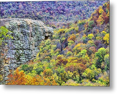 Hawksbill Crag Colors Metal Print by JC Findley