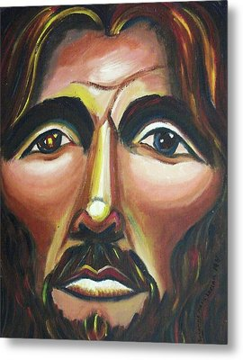 He Cares Metal Print by Suzanne  Marie Leclair