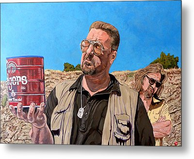 He Was One Of Us Metal Print by Tom Roderick