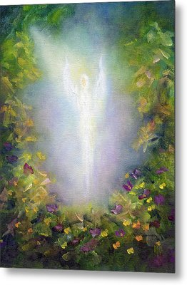 Healing Angel Metal Print by Marina Petro