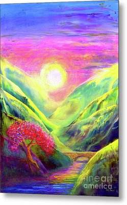 Healing Light Metal Print by Jane Small