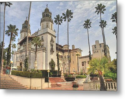 Hearst Castle Metal Print by Donna Kennedy