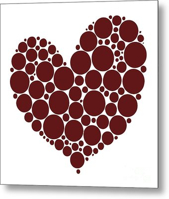 Heart Metal Print by Frank Tschakert