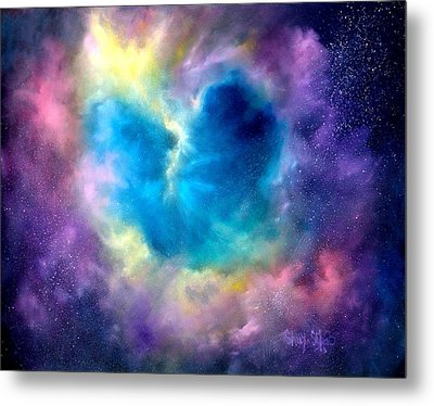 Heart Of The Universe Metal Print by Sally Seago
