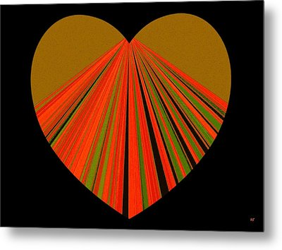Heartline 5 Metal Print by Will Borden