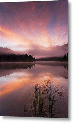 Heavenly Skies Metal Print by Mike  Dawson