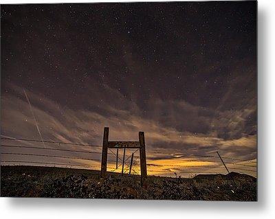 Heaven's Gate Metal Print by Peter Tellone