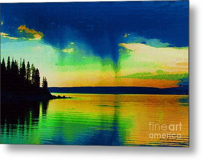 Heaven's Rest Metal Print by Diane E Berry