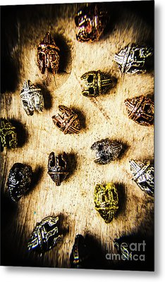 Helmets From The Iron Guard Metal Print by Jorgo Photography - Wall Art Gallery