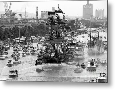 Here Come The Pirates Metal Print by David Lee Thompson