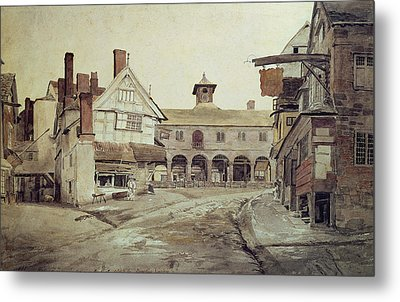 Hereford Metal Print by Cornelius Varley