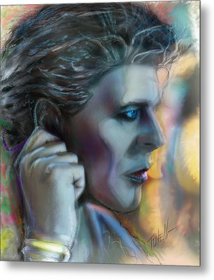 Heroes, David Bowie Metal Print by Mark Tonelli