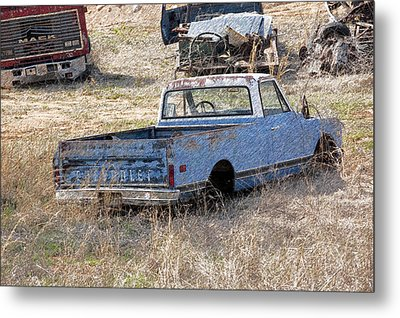 Hey Mack Gotta Light Metal Print by Gary Adkins