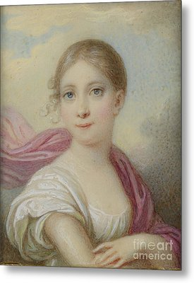 Hh The Hereditary Duchess Of Saxe Metal Print by MotionAge Designs