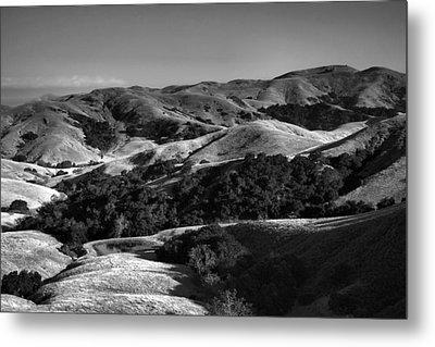 Hills Of San Luis Obispo Metal Print by Steven Ainsworth