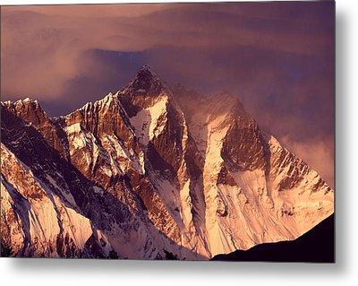 Himalayas At Sunset Metal Print by Pal Teravagimov Photography