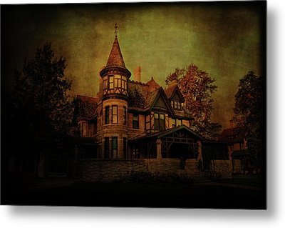 Historic House Metal Print by Joel Witmeyer