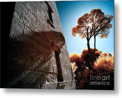 Historic Stone Metal Print by Russ Brown