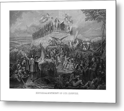 Historical Monument Of Our Country Metal Print by War Is Hell Store