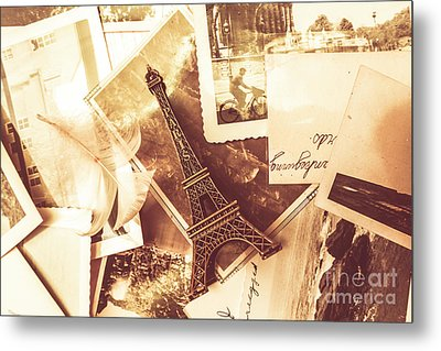 History And Sentiment Of Vintage Paris Metal Print by Jorgo Photography - Wall Art Gallery