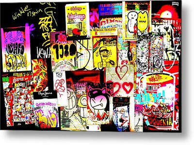 Hola Barcelona Metal Print by Funkpix Photo Hunter