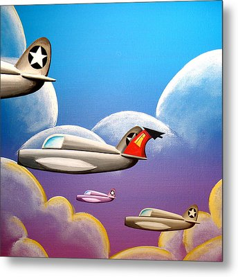 Hold On Tight Metal Print by Cindy Thornton