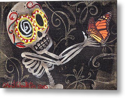 Holding Life Metal Print by  Abril Andrade Griffith